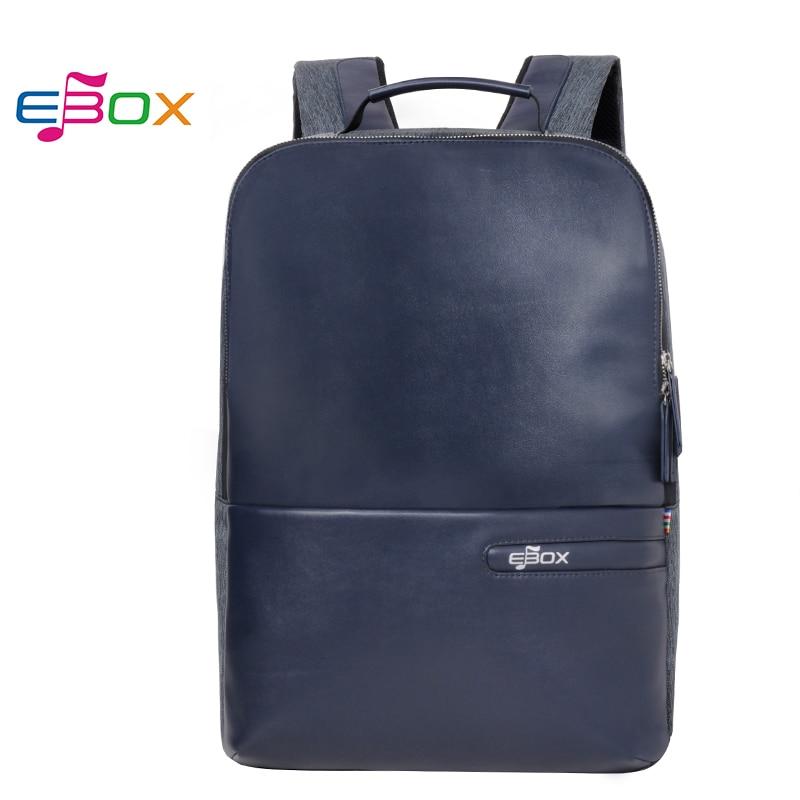 880c6fe7ac Best buy EBOX waterproof Laptop Leather Bobby Backpack men School Bags for  women Girls Boys Mochila Feminina anti theft backpacks online cheap