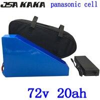 72 72 v 2000 w 3000 w bateria de lítio v 72 v 20ah bicicleta elétrica da bateria ebike 20ah bateria uso panasonic carregador de celular com 84 V