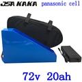 72 v 2000 w 3000 w lithium-batterie 72 v 20ah ebike batterie 72 v 20ah elektrische fahrrad batterie verwenden panasonic zelle mit 84 V ladegerät