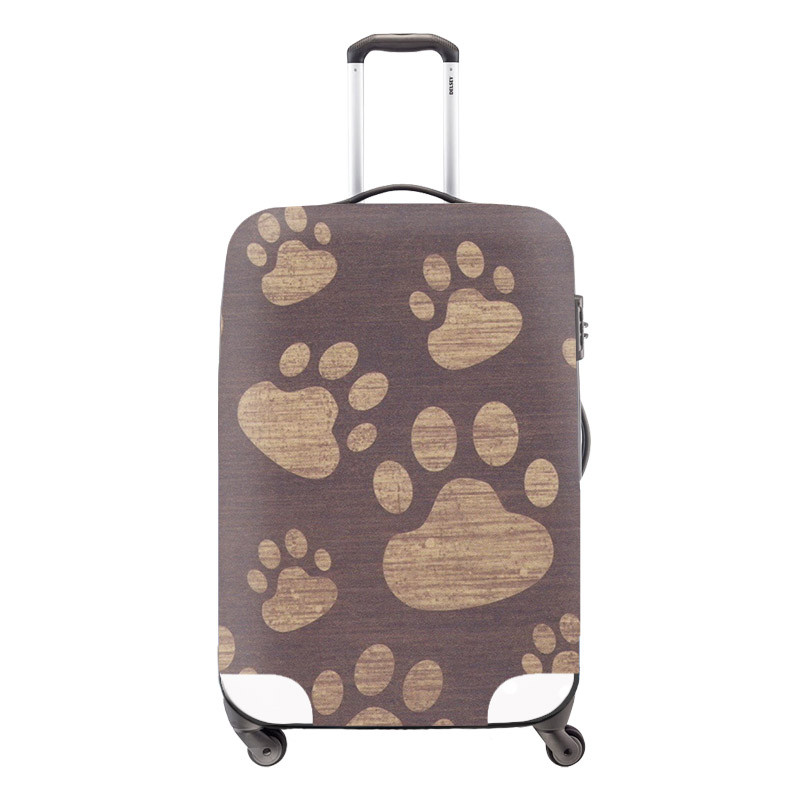2 Waterproof Luggage Protective Cover Animal Print Travel Luggage Cover Panda Suitcase Protective Cover Apply to 18-30Inch Case