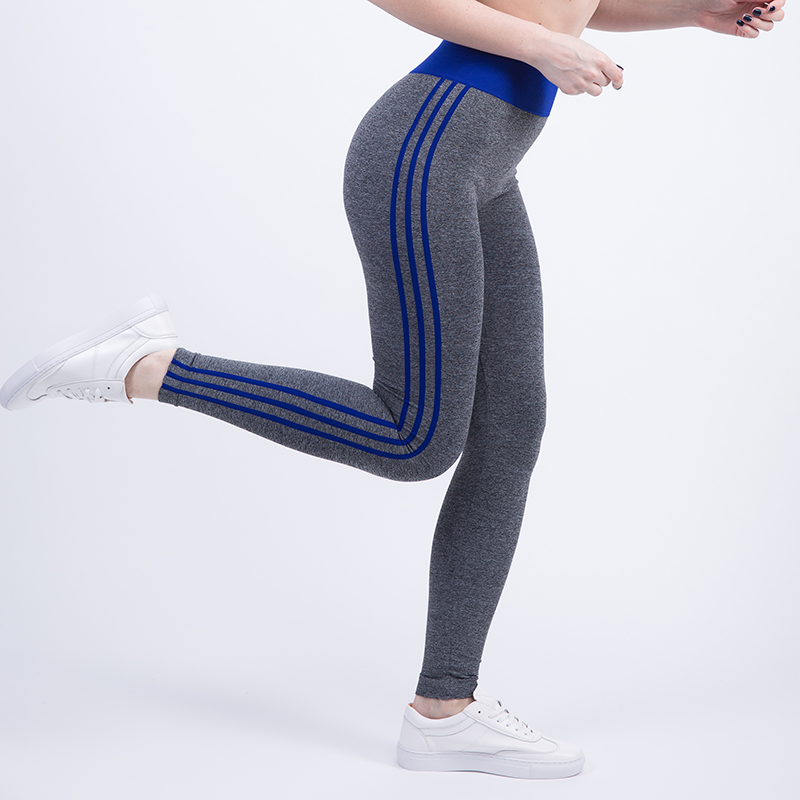 Tresdin New Women Sexy Cropped Leggings High Waist Elastic Wicking Force Exercise Female Elastic Stretchy Leggings Slim Trousers 6