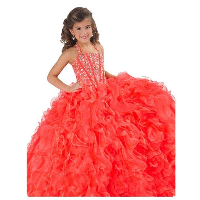 Aliexpress.com : Buy Long Ball Gowns Toddler Girls Beauty Glitz ...