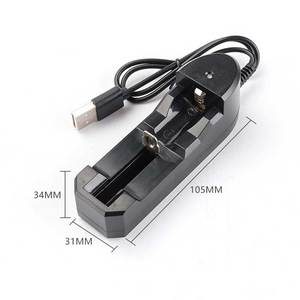Image 3 - Rovtop 18650 Battery Charger Black 2 Slots AC 110V 220V Dual For 18650 Charging 3.7V Rechargeable Lithium Battery