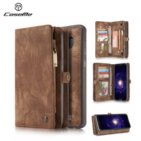CaseMe For Samsung Galaxy Note 8 S8 S7edge 2 In 1 Luxury Leather Case Magnetic Card