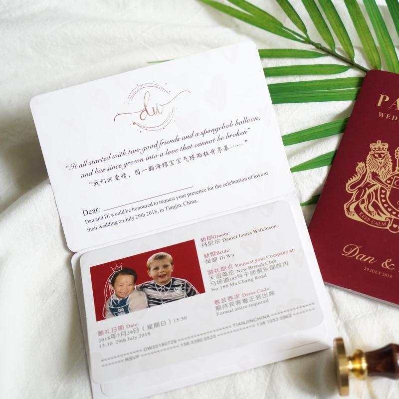 Freies verschiffen 30 stücke Passport ticket geformt foto name brief Valentinstag Postkarte Gruß Geschenk Hochzeit Einladungen Karte-in Karten & Einladungen aus Heim und Garten bei  Gruppe 2