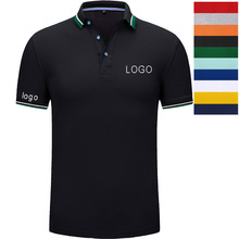 Custom embroidery  polo - custom shirt for men logo with print