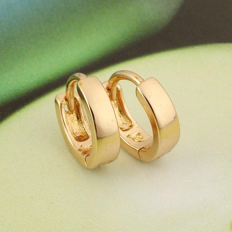 Σκουλαρίκια μωρών Σκουλαρίκια χρυσού - Κοσμήματα μόδας - Φωτογραφία 4