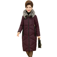 WAEOLSA Woman Winter Hooded Puffer Coat Fur Hood Quilted Jacket Women Puff Padded Overcoats Purple Black