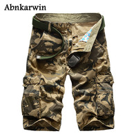2017 New Summer Camouflage Cargo Shorts Men Casual Loose Men S Military Short Trousers Plus