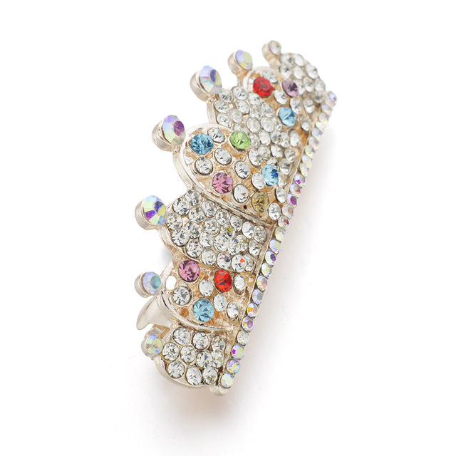 Crown Shaped Crystal Hairpin