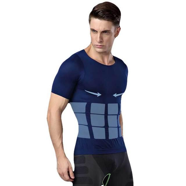 Men Shapers Ultra Sweat Thermal Muscle Shirt Neoprene Belly Slim Sheath Female Corset Abdomen Belt Shapewear Zip Tops Vest NY094