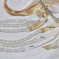 TOPQUEEN FREE SHIPPING S246 Pearls Wedding Belts Pearls Wedding sashes,Pearls Bridal Belts Pearls Bridal Sashes.