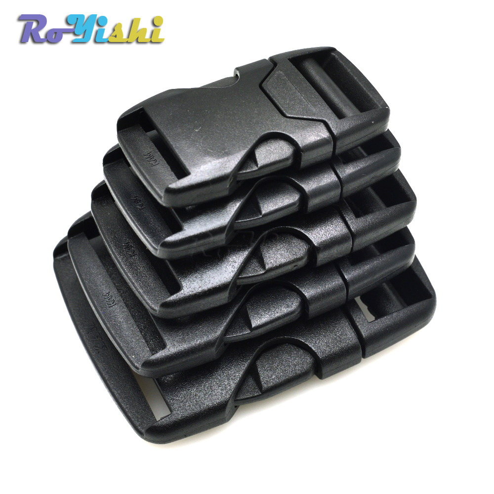Webbing Plastic Side Release Bump Buckle for Backpack Straps Luggage Outdoor Sports Bag