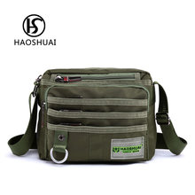 fashion bags 2017 Camouflage cigarette pouch mobile nylon crossbody bag man design purse large capacity travel shoulder tool bag(China)
