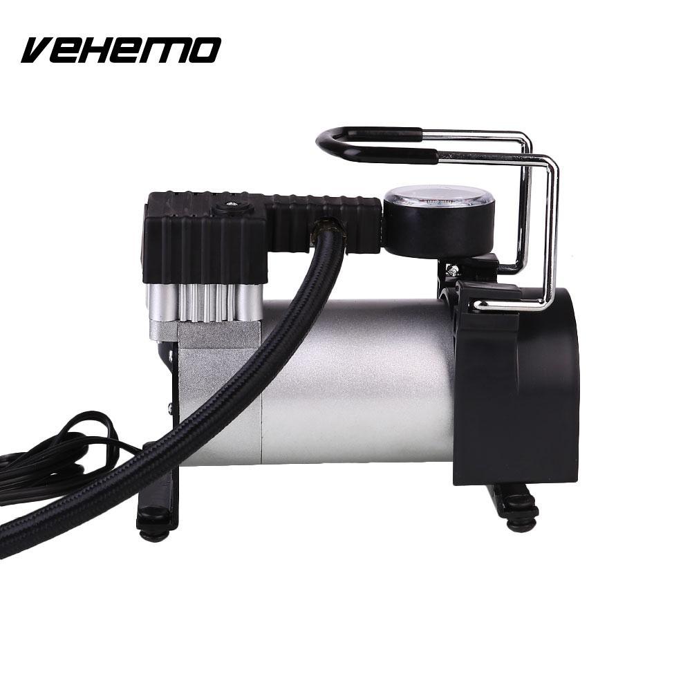 12V Portable Super Electric Car Tire Air Pump 140PSI Cigarette Lighter Plug