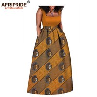 2019 african dress for women fashional sleeveless maxi cotton dress bazin for sexy ladies traditional african clothing A722549
