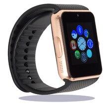 Männer frauen tragbare geräte gt08 dz09 gt88 smart watch elektronik armbanduhr für huawei samsung telefon android gesundheit smartwatch