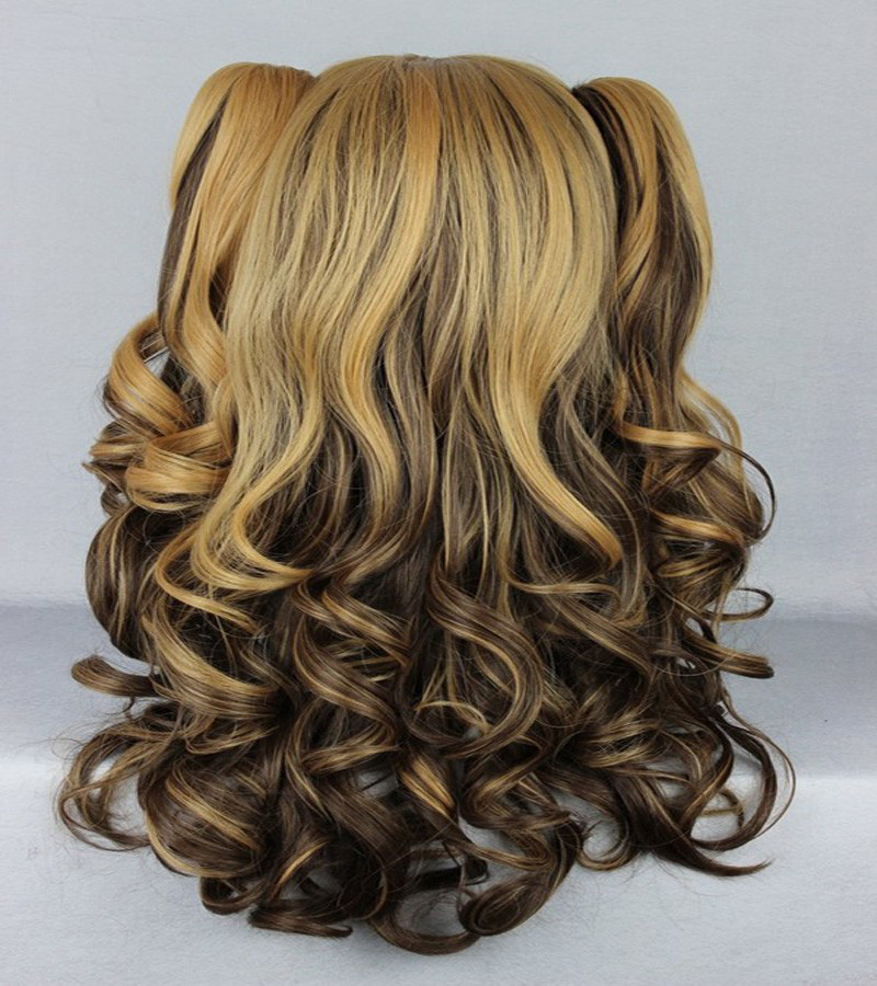 Ombre Weave 70cm Long Braided Synthetic Lolita Wig