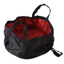 Tragbare ultraleichte 7-8,5L Outdoor Survival Folding Camping Becken Überleben Camping Ausrüstung Reise Kit Drop Shipping Neu
