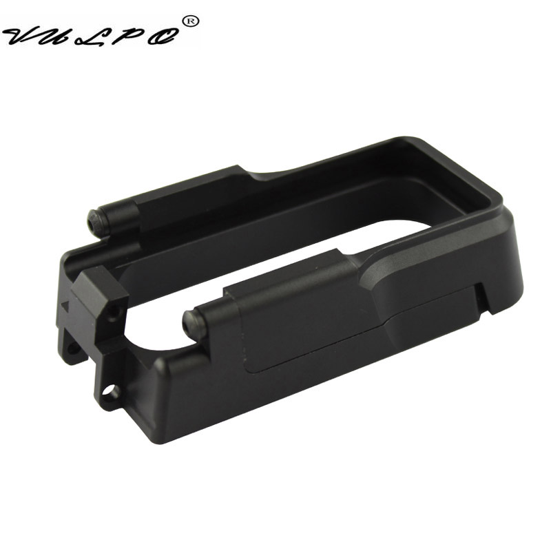 VULPO Tactical Magazine Well CNC Aluminum Made Magwell for AEG M4&GBB M4&AR-15 Hunting Accessories image