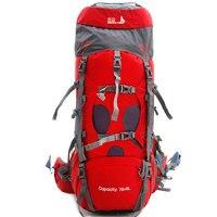 BSWolf 75L Кемпинг Альпинизм Водонепроницаемый восхождение Пеший Туризм рюкзак дождевик Сумка рюкзак спорт на открытом воздухе путешествия об