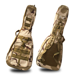 Funda de guitarra de 40/41 pulgadas, funda blanda de esponja de 10mm de espesor, funda Gig Bag, mochila Oxford, funda para guitarra resistente al agua con correas para los hombros