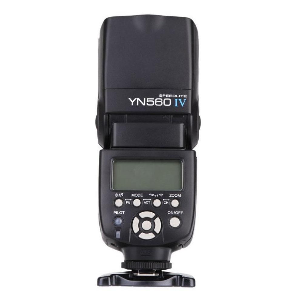 YONGNUO YN560 IV2.4GHz Flash Speedlite Wireless Transceiver Integrated for Canon Nikon Panasonic Pentax Camera yongnuo yn560 iii yn560iii flash speedlite flashlight for canon nikon pentax olympus panasonic dslr camera upgrade of yn560 ii