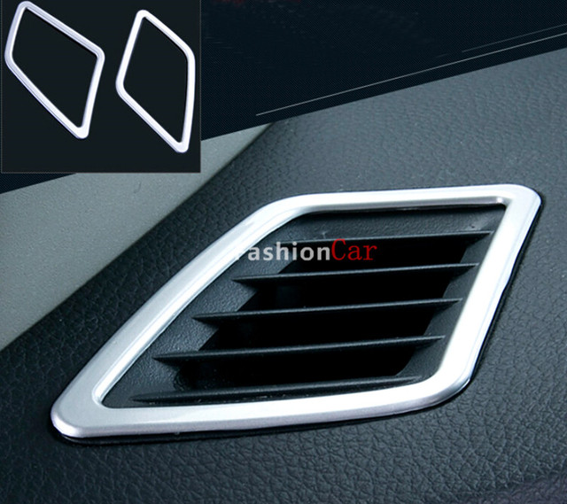For Nissan Pulsar / Sentra / Sylphy 2012-2016 Interior Air Condition Vent Outlet Cover Trim 4pcs