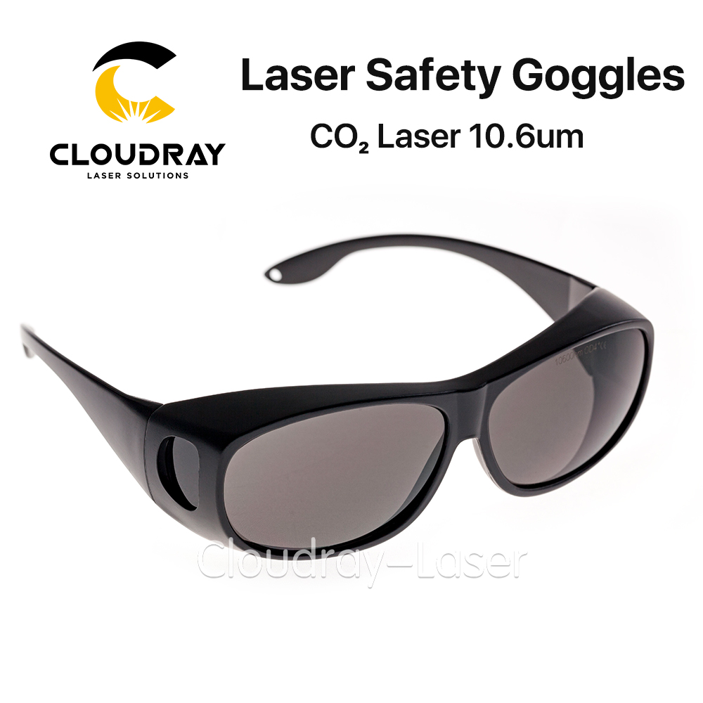 a0b0ba969f Cloudray 10600nm Style C Laser Safety Goggles OD4+ CE Protective Goggles  For CO2 Laser Cutting Engraving