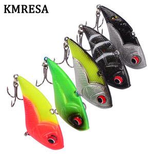 Image 2 - 1Pcs High Quality Crank Metal Vibration Lures 50mm 13g  With Lead Inside Fishing VIB Lure Sinking Artificial Vibrator Bass Bait