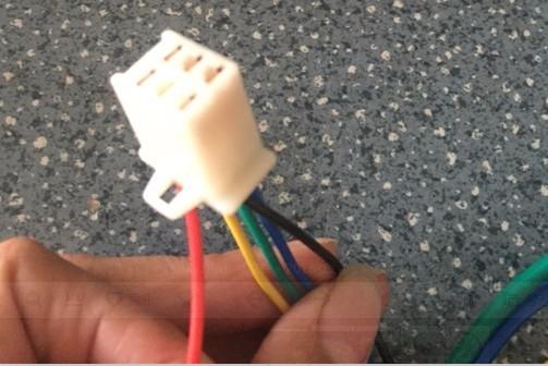 hall sensor wire