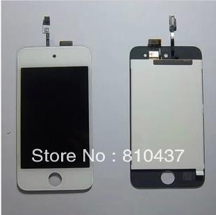 OEM Generation LCD Screen and Digitizer Assembly Display Assembly for ipod touch 4 - White