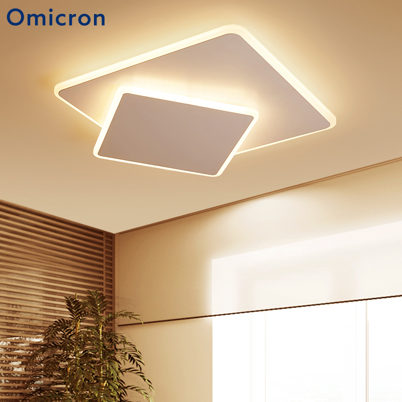 Us 89 49 28 Off Omicron Modern Led Ceiling Light Creative Diy Geometric Art Lighting Ceiling Lamp For Living Room Bedroom Home Decoration In Ceiling
