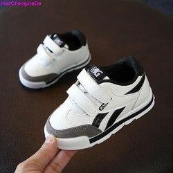 HaoChengJiaDe/Новая модная летняя детская обувь; сандалии на плоской подошве для мальчиков и девочек; дышащие мягкие детские спортивные кроссовки...