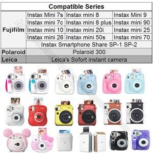 Image 5 - 100/60 weiß Blätter Echten Fuji Fujifilm Instax Mini 11 Film Für Mini 9 8 9 7s 7c 90 70 25 teilen SP1 SP2 Liplay Instant Kameras