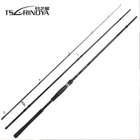 TSURINOYA TYRANTS 1003M FUJI Accessory Bass Rod Long Distance Throwing Spinning Rod 3m 3.3m Carbon Fiber Carp Fishing Rods Pole