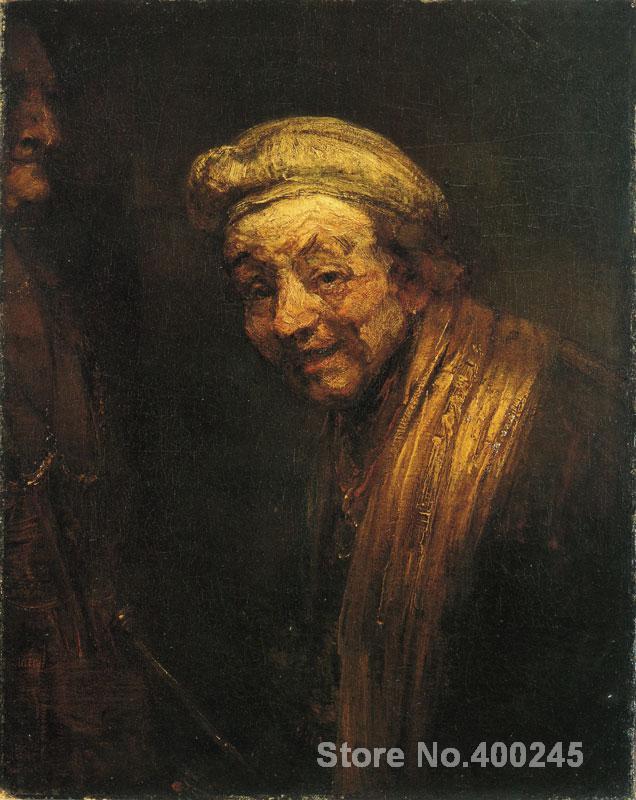 Famous portrait rembrandt van rijn self portrait as zeuxis for Hand painted portraits from photos