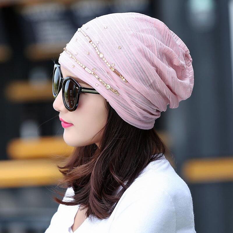 2017 New Women Fashion Hat Autumn Casual Female Caps Beanie Knit Winter Hats Girls Cap Lace Skullies Gorro Bonnet free shipping new fashion women autumn hat caps for girl rivet knit beanie skullies colors men casual hip hop hats adult winter bonnet shop