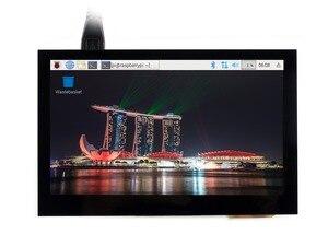Image 3 - 4.3 polegada tela de toque capacitivo ips lcd hdmi interface suporta raspberry pi bb preto banana pi multi mini pces multi sistemas etc