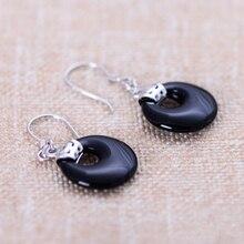 Metjakt 925 Sterling Silver Drop Earrings For Women S