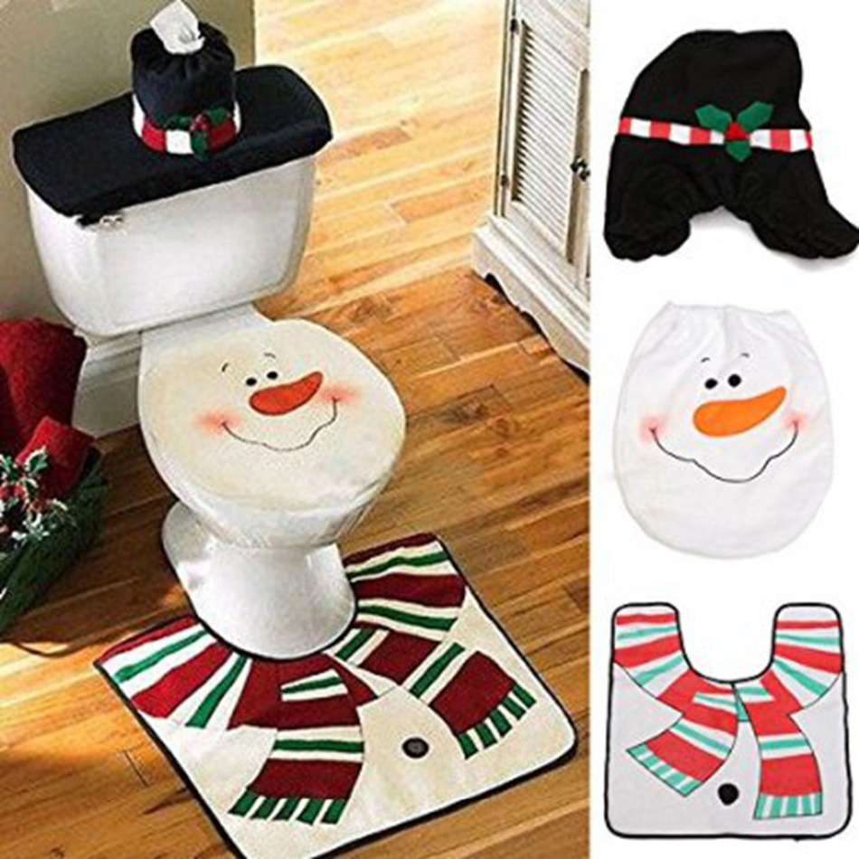 christmas bathroom decor sets design | agemslife