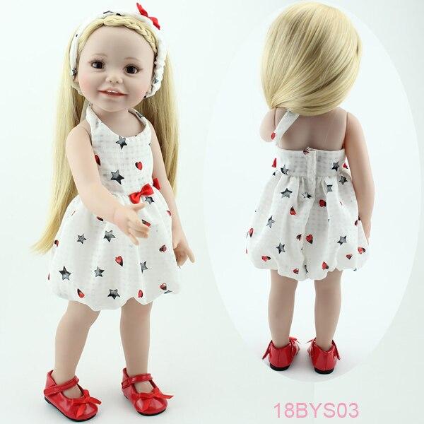 Cutie American Childs jugar muñeca 18 \'\'vinilo sonriente realista ...