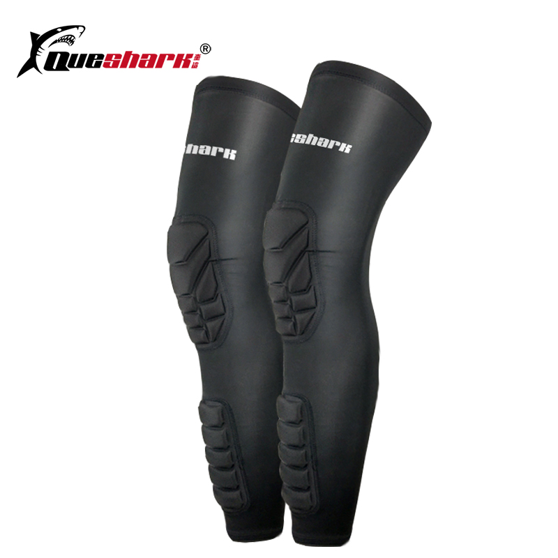 Honeycomb Lange Basketball Knie Pads beinlinge Volleyball Knie Brace Kompression Läuft Bein Hülse Socken Gym Sport Kneepads