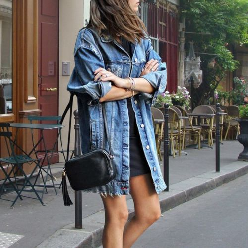 Denim Shirts Down  Cardigan
