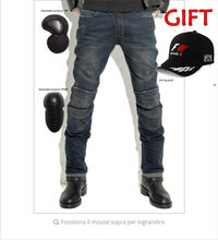 2016 Motorcycle PANTS MAN, VOLERO-YH-615 Featherbed jeans pantaloni Goccia cavalcare versione standard car and motorcycle