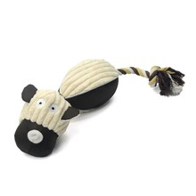 2016 New Pet Toys For Dogs Short Plush Material Cotton Stuffered Dog Shape Dogs Toys For Dogs