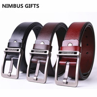 Hot Saleing Mens Cow Genuine Leather Luxury Strap Male Belts For Men New Fashion Classice Vintage