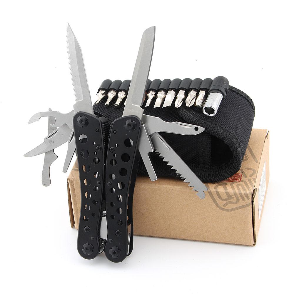 Ganzo G204 Original Multi Combination Pliers 24 in1 Stainless Steel Folding Knife Pliers tool