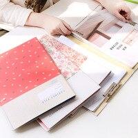 Briefpapier groothandel creatieve schilderen dubbele A4 rvs metalen clip map 22.3*31.4*1.5 cm 2 piecs/set Kleur willekeurige haar