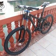 Kalosse Diy цвета гидравлические тормоза горный велосипед мягкий хвост горный велосипед 26*2,35 дюймов мягкий хвост рама 30 Скорость